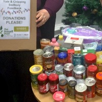 Yate office: Helping our local foodbank this Christmas
