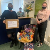 Wards' Yate office – helping our local foodbank